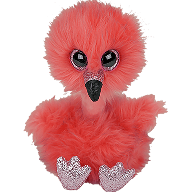 Ty Beanie Boo: Franny Flamingo - Small Plush