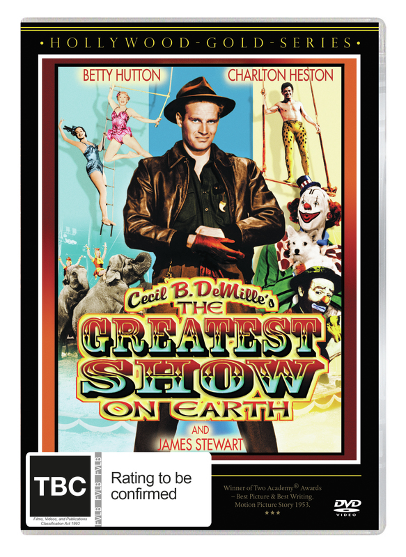 The Greatest Show On Earth on DVD