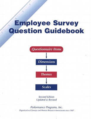 Employee Survery Question Guidebook: Questionnaire Items - Dimensions, Themes, Scales by Paul Connolly image