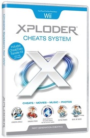 XPLODER Cheats System for Nintendo Wii