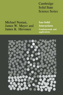 Cambridge Solid State Science Series by Michael Nastasi