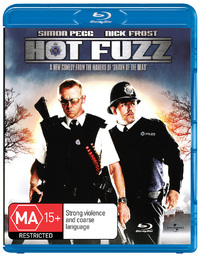 Hot Fuzz on Blu-ray