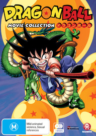 Dragon Ball Movie Collection (Slimpack) on DVD