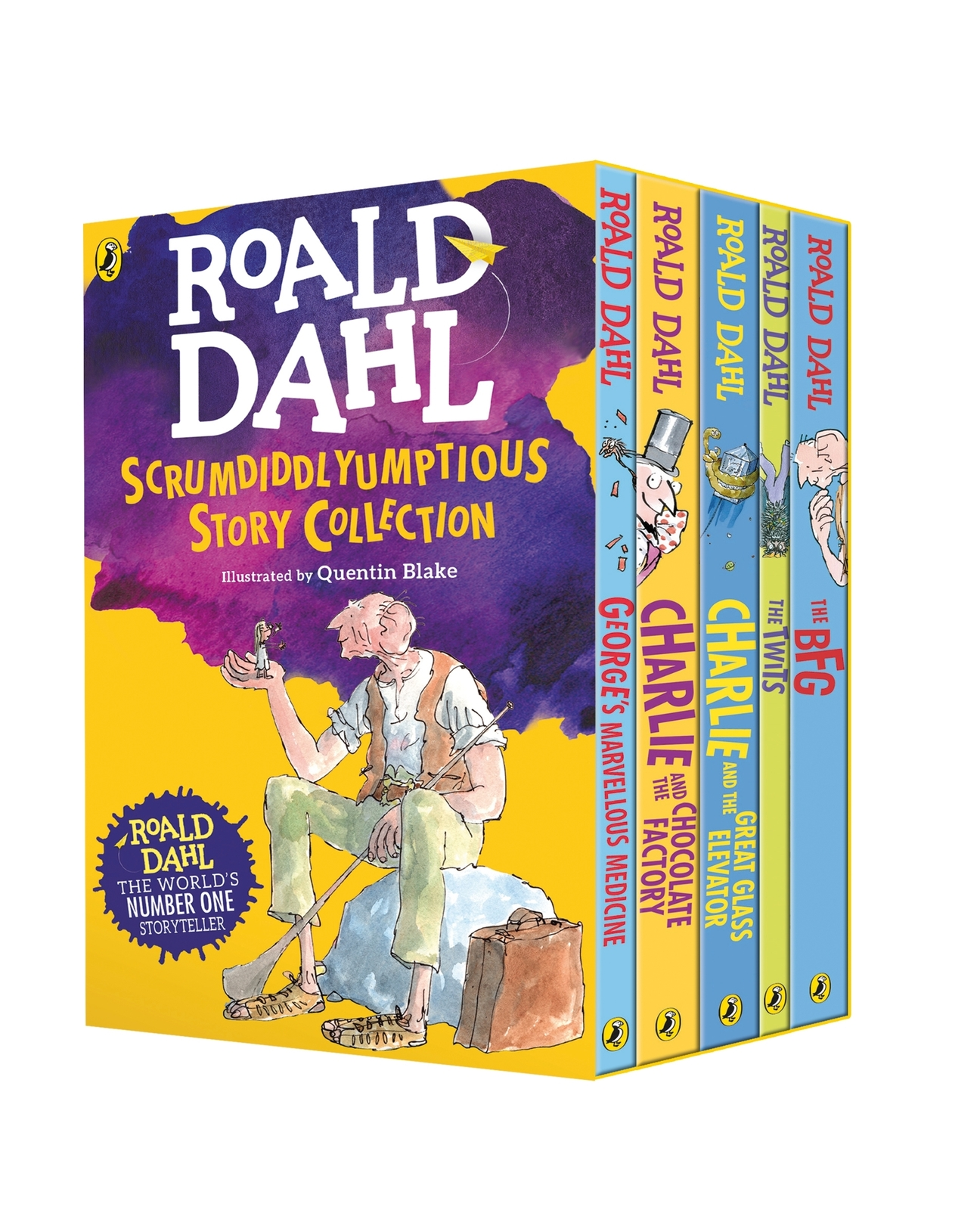 Roald Dahl's Scrumdiddlyumptious Story Collection by Roald Dahl image
