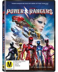Saban's Power Rangers on DVD