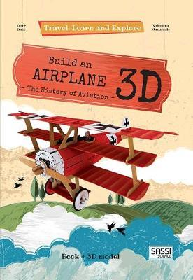 Sassi: Travel Learn and Explore 3D Puzzle - Airplane by Valentina Manuzzato