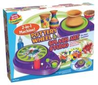 Small World: Pottery & Splash - 2-in-1 Art Studio