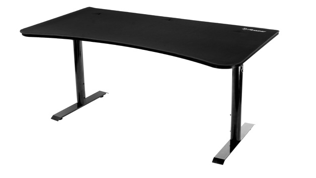 Arozzi Arena Gaming Desk (Pure Black) for