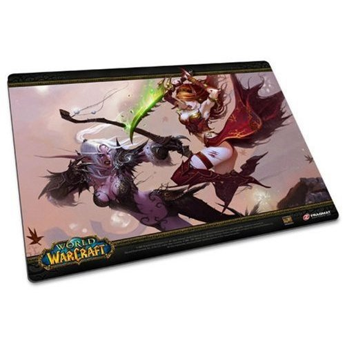 Ideazon FragMat World of Warcraft: Ancient Enemies (PC Mousemat) for PC Games image