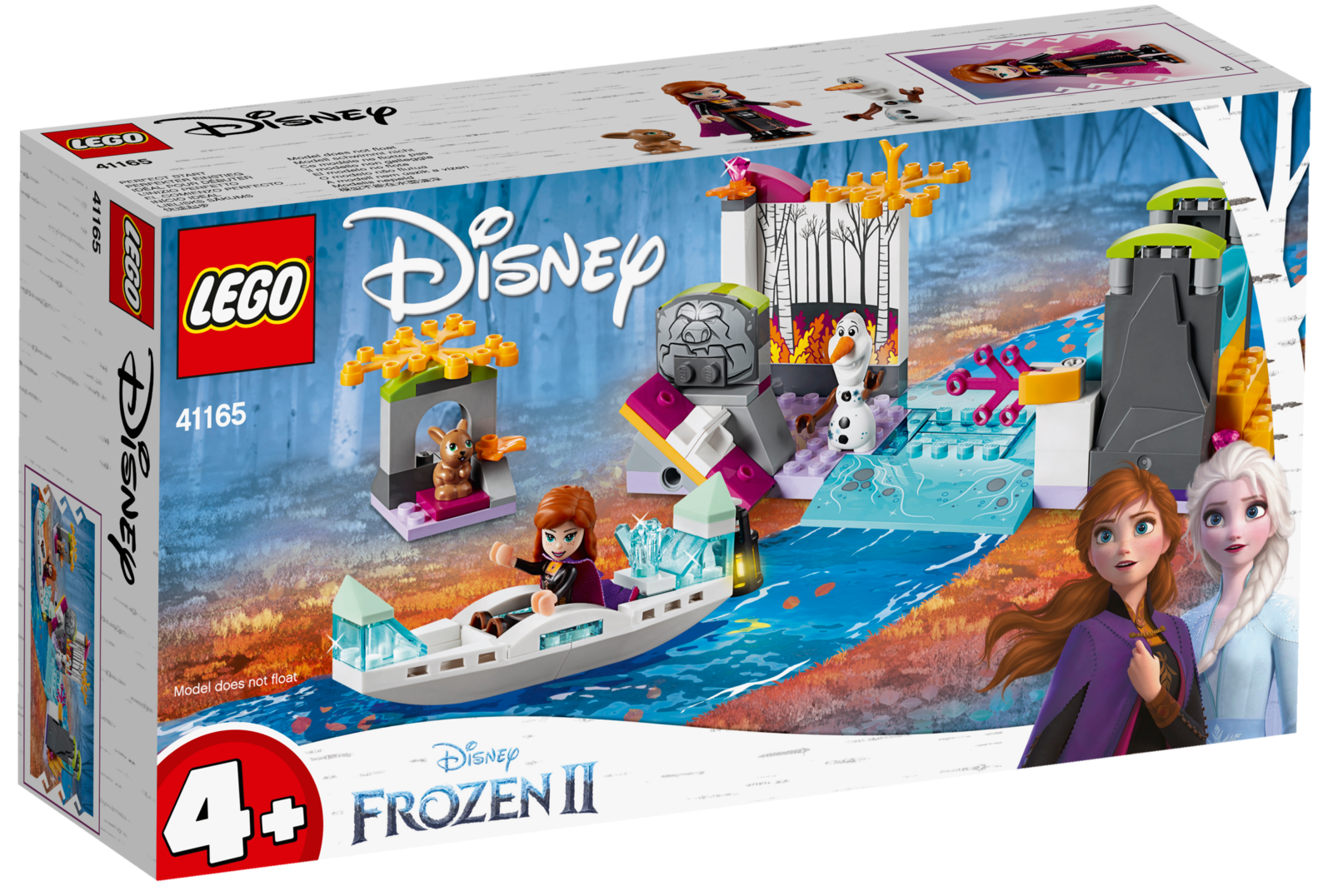 LEGO Disney: Frozen II - Anna's Canoe Expedition (41165) image