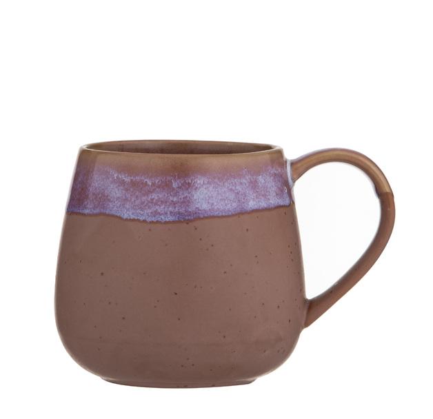 Leaf & Bean: Milan Reactive Glaze Mug - Pink (9.5x9.5x9.7cm/500ml)