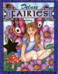 Fairies - Deluxe Colouring Book image