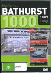 Hightlights of Bathurst 1000 - 1997 / 1998 on DVD