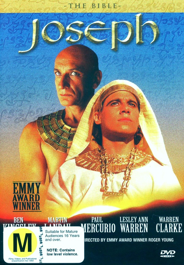 The Bible: Joseph on DVD image