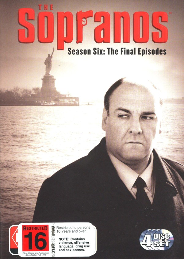 The Sopranos - Season 6 Part B: The Final Episodes (4 Disc Set) on DVD image