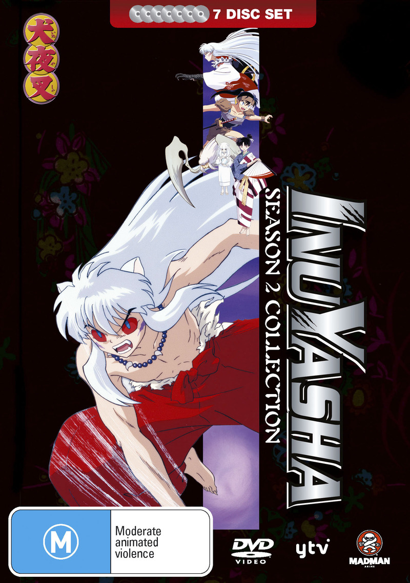 Inuyasha Season 2 Collection (Fatpack) on DVD image