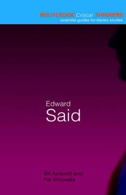 Edward Said by Bill Ashcroft