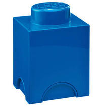LEGO Storage Brick 1 (Blue)