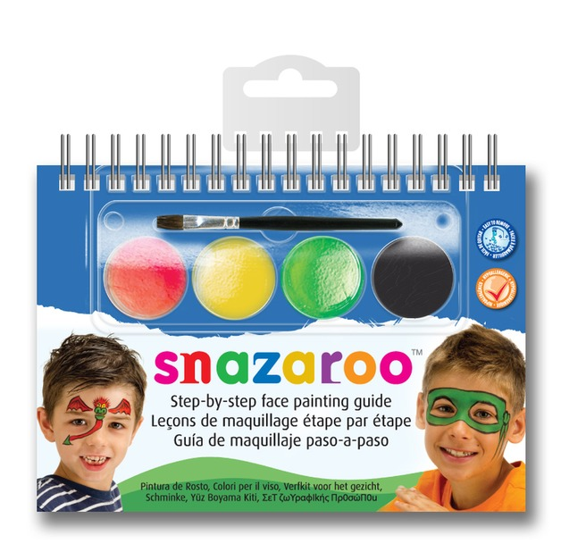 Snazaroo Book Kit - Boys