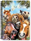 Horse Selfie A5 Notebook