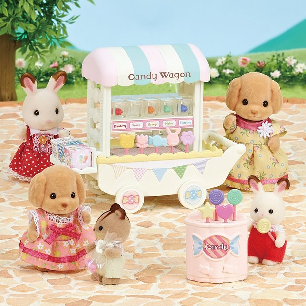 Sylvanian Families: Candy Wagon