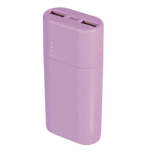 Verbatim 5,200 mAh Power Pack (Purple)