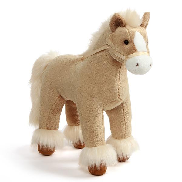 Gund: Dakota Clydesdale Horse - Tan