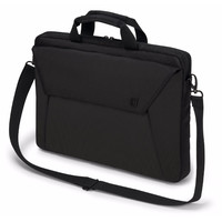 "Dicota Slim Case EDGE Carry Bag with shoulder strap for 14"" - 15.6"" Notebook /Laptop (Black)"