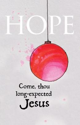 Hope Ornament Advent Bulletin (Pkg of 50) image