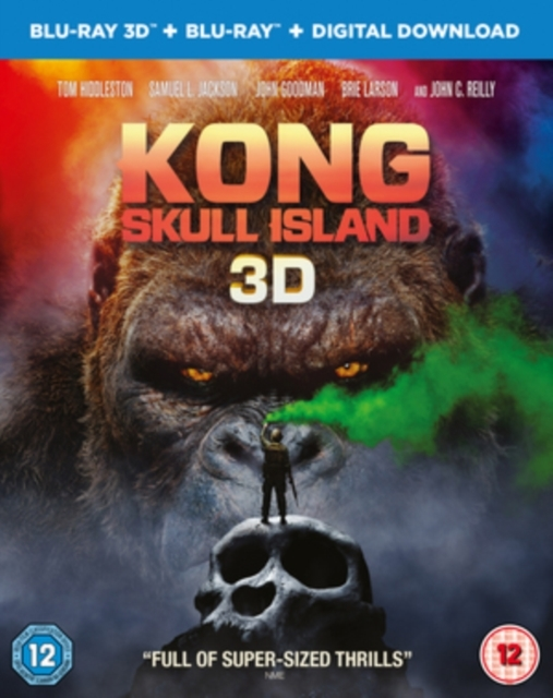 Kong Skull Island on 3D Blu-ray