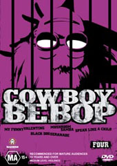 Cowboy Bebop - 4 on DVD