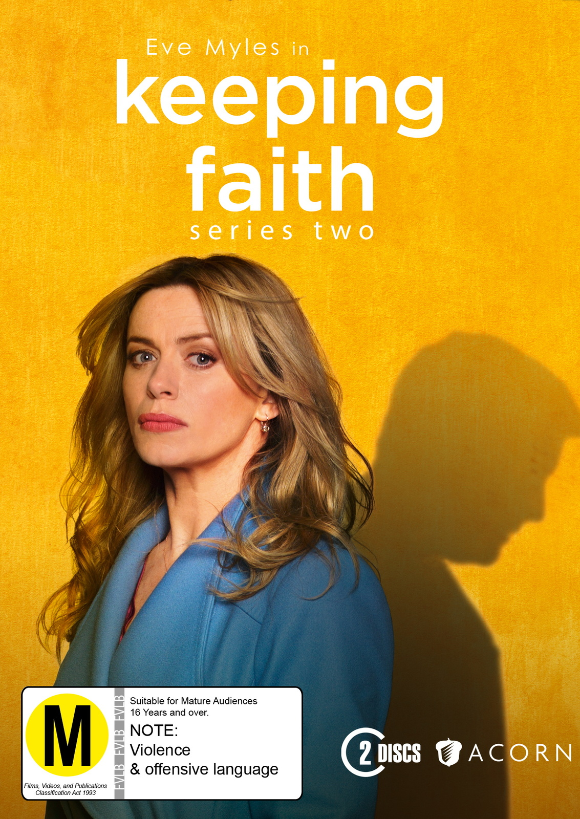 Keeping Faith - Series Two on DVD image