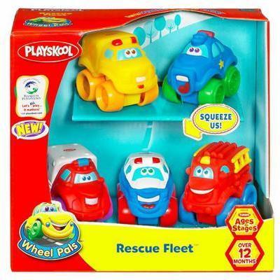 Tonka Wheel Pals Rescue Fleet Vehicles