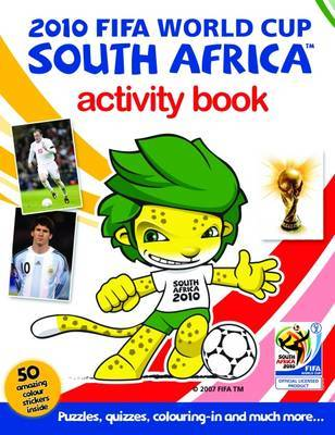 2010 FIFA World Cup South Africa Activity Book by Bronagh Woods image