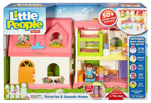 Little People Surprise Sounds Home Toy At Mighty Ape