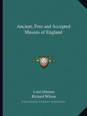 Ancient, Free and Accepted Masons of England by Lord Allerton image