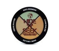 W7 Hide n Seek (Anti-Redness Concealer Quad) image