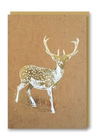 Nineteeen Seventy Three: Deer Christmas - Greeting Card