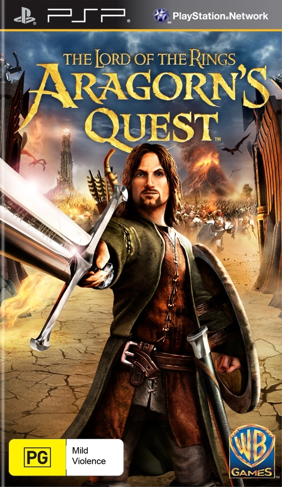 Lord of the Rings: Aragorn's Quest for PSP image