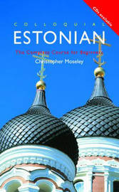 Colloquial Estonian by Christopher Moseley