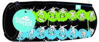 Spencil: Skate Paint Barrel Pencil Case