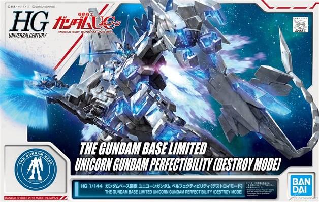 HGUC 1/144 Unicorn Gundam Perfectibility (Destroy Mode) - Model Kit