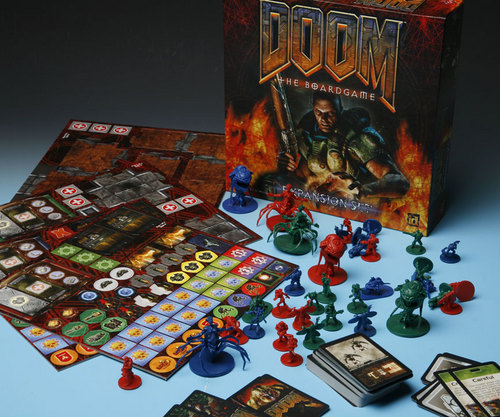 Doom: The Boardgame Expansion Pack image