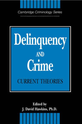 Cambridge Studies in Criminology image