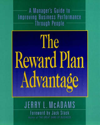 The Reward Plan Advantage by Jerry L. McAdams image