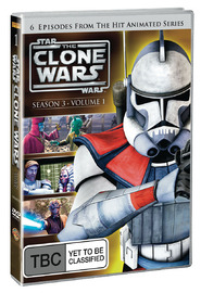 Star Wars: The Clone Wars - Season 3 Volume 1 on DVD image