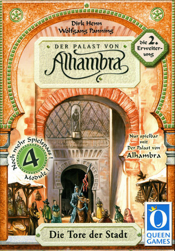 Alhambra: The City Gates - Game Expansion image