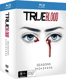 True Blood - The Complete First to Fifth Seasons on Blu-ray