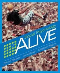 Social Psychology Alive by Steven J. Breckler image