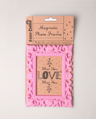 Mini Magnetic Photo Frame - Pink | at Mighty Ape NZ